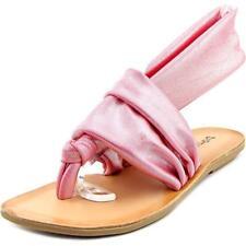 Sandalias con tiras de mujer rosa Laundry