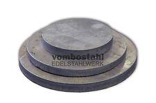 Ronde Stahl ST37 Stahlronde Blech rund Stahlscheibe 100-500 mm Stärke 5 | 8 mm