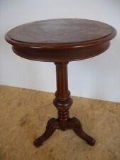 Exklusiver Gründerzeit Beistelltisch Luxus Tisch Nussbaum Prunktisch Holz antik