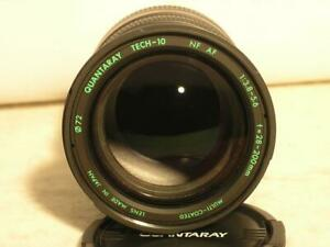 Quantaray Tech-10 Autofocus 28-200mm F3.8-5.6 Nikon AF Mount Lens