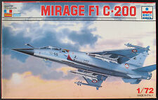 ESCI ERTL 9061 - MIRAGE F1 C-200 - 1:72 - Flugzeug Modellbausatz - Model KIT