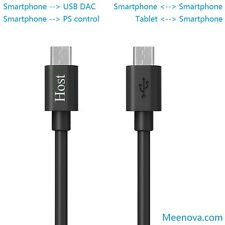 MicroUSB-to-MicroUSB OTG Cable,USB DAC Cable Galaxy S6/S5/S4, Note 5/4/, HTC One