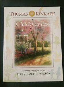 NEW! THOMAS KINKADE ~ A CHILD'S GARDEN OF VERSES BABY BOOK ~ ROBERT L STEVENSON