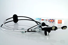 VAUXHALL MOVANO 99+ GEAR LINKAGE CABLES TRANSMISSION GEARBOX 9161601 9109438 NEW