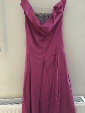 Vivienne Westwood  Anglomania Size 40 Small Beautiful Cerise Pink Bardot Dress