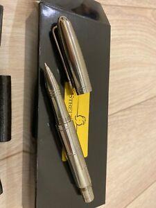 Streltsov P&A polished titanium pen
