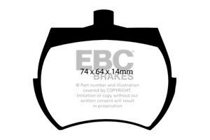 EBC Bluestuff Front Brake Pads for Innocenti 90 1.0 (74 > 86)
