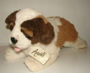 Vintage Applause Avanti Large Plush Saint Bernard Dog #11113