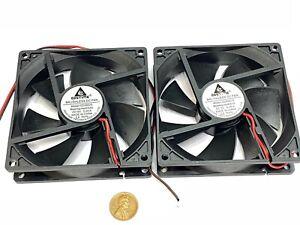 2 x Fan 5V 0.2A Computer PC CPU Case 9225 92mm 92x92x25mm 2pin DC G13
