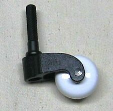 PORCELAIN WHEEL CASTER WITH CAST IRON FORK (QTY 1) P-2413