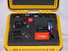 Yellow Pelican ™ 1300 Case fits 2 GoPro Hero6 6 5 4 3+ 3 2 Black Ed +nameplate