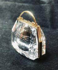 New ListingSwarovski Crystal Memories ~ Secrets Series ~ Handbag w/Clock ~ Nib (1997)