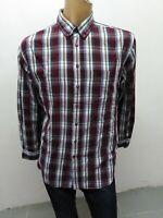 Camicia CAMEL ACTIVE Uomo taglia size XL shirt man chemise maglia polo coton5350