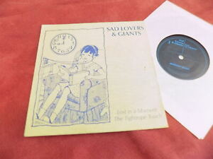 """SAD LOVERS AND GIANTS Lost in a moment 7"""" NEW WAVE"""
