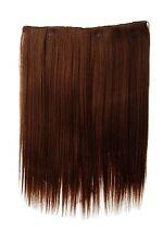 Postiche Large Extensions Cheveux 5 Clips Lisse Marron Cuivre 45cm L30173-30