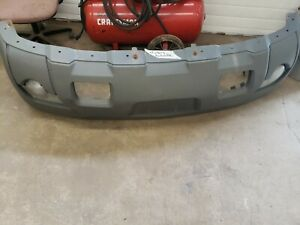 Front Bumper Cover OEM w/ Body Cladding For 2003-2006 Chevy Avalanche 1500