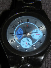 Denacci Wristwatch • Black Stainless Steel Band • Cool Watch • Works&Looks Great