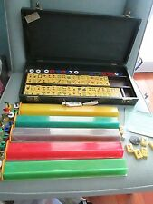 Rare Antique Vintage American Made Bakelite Catalin Mah Jongg Set Game Royal 150