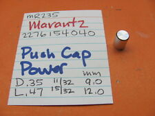 MARANTZ 2276154040 PUSH SWITCH CAP POWER MR235 STEREO RECEIVER