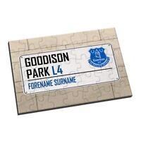 Everton F.C - Personalised Jigsaw (STREET SIGN)