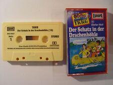 TKKG 19 Der Schatz in der Drachenhöhle - gelbe Mc Kassette EUROPA HÖRSPIELE