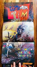 Earthworm Jim Snes Nintendo Power Poster Authentic New Illusion of Gaia Vol 65