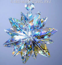 m/w Swarovski Crystal Huge AB 20mm Lily Octagon Suncatcher Lilli Heart Designs