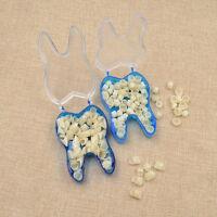 1 Box Dental For Molar Teeth Plastic Temporary Crown Veneers Repair Supplies