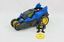 Imaginext DC Super Friends Batman Motorized Batmobile 2012 Tested & Working