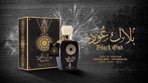 Khalis Black Oud Arabian Men Perfume Spray Eau De Parfum 100ml  Woody *Oriental*