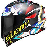 Casco integrale moto carbonio Suomy Speedstar Iwantu helmet TRICARBOCO