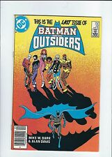 BATMAN AND THE OUTSIDERS (1983) #32 NEWSSTAND