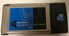 Linksys Wireless-B Notebook Adapter. Wpc11 V3 *Free Shipping*