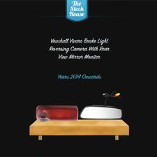 Vauxhall Vivaro que invierte la cámara de visión trasera monitor & Luz De Freno 2014 > Presente
