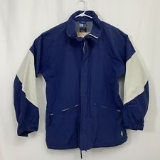 Vintage Men's BURTON Snowboard Ski Jacket Blue Light Grey XL Tri-Lite Waterproof