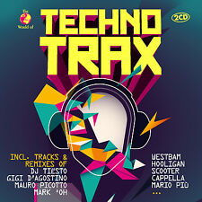 CD Techno Trax by Various Artists 2cds