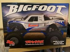 Traxxas 36084-1 Bigfoot 2Wd Rtr Rc Monster Truck 2 Batteries, 2 Chargers +Extra
