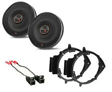 INFINITY REFERENCE REF-6522IX STEREO SPEAKERS DOOR MOUNTING BRACKETS & HARNESS