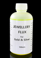 Jewelery Soldering Liquid FLUX for  Metals - Gold, Silver, Brass,Bronze - 100mls