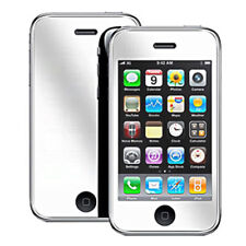 10x QUALITY MIRROR LCD SCREEN PROTECTOR IPHONE 3GS IPOD