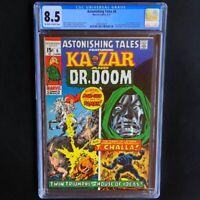Astonishing Tales #6 💥 CGC 8.5 💥 1st Barbara Morse - Mockingbird! Dr Doom 1971