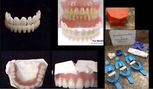 Do It Yourself Acrylic Denture Kit Create Your Own Denture Temporary A2