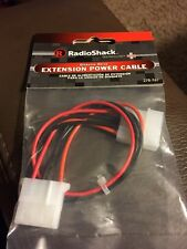 "Radio Shack Disk Drive 10"" Power Extension Cable"