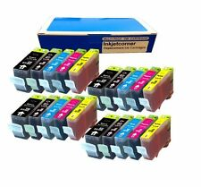 Inkjetcorner 20 NEW Ink Set CHIP PGI 220 CLI 221 CANON Pixma iP3600 iP4600 MP560