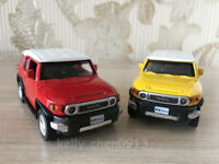 CAIPO 1:43 TOYOTA FJ CRUISER  SUV Alloy Car Model Pull Back Vehicles Kids Toy