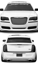 Fits 11-14 Chrysler 300 GTS Smoke Acrylic Headlight Fog Taillight Covers 6pc NEW