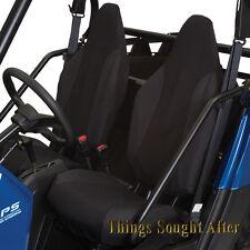 BLACK SEAT COVER SET 2012 POLARIS RZR & RZR4 570 800 900 XP LE Razor RZRS 4 S
