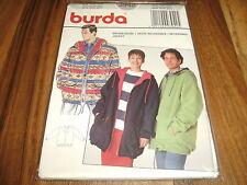 BURDA-PLUS Schnittmuster 3942          WENDE-JACKE        Da: 38-48   He.: 44-54