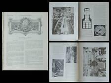LA CONSTRUCTION MODERNE n°3 1906 PARIS, GRAND MAGASIN PRINTEMPS, RENE BINET