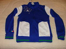 Team Italy 2010 World Cup Soccer Track Jacket M Women